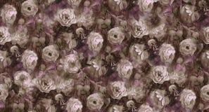 Rosas e quadris ilustração royalty free