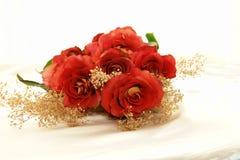 Rosas en blanco Fotos de archivo