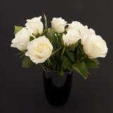 Rosas en negro imagen de archivo