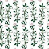 rosas Flores Fondo de la flor Modelo inconsútil relanzado Ilustración del vector libre illustration