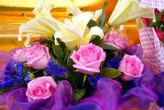 Rosas frescas Fotos de archivo