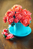 Rosas frescas bonitas Fotografia de Stock