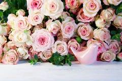 Rosas macias para o dia de mães Imagem de Stock