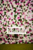 Rosas multicoloras de un oscilación en un fondo Fotos de archivo libres de regalías