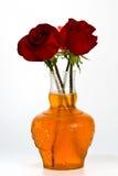 Rosas no vaso imagens de stock royalty free
