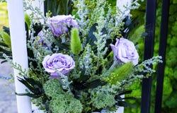 Rosas púrpuras imagen de archivo libre de regalías