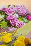 Rosas para a celebração Imagens de Stock Royalty Free