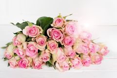 Rosas para o dia de mães Fotos de Stock Royalty Free