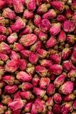 Rosas para o fundo do chá Fotografia de Stock
