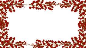 Rosas que crecen en un marco en Alpha Channel libre illustration