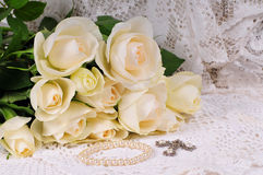 Rosas que Wedding imagem de stock