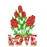 Rosas rojas libre illustration