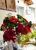 Rosas rojas imágenes de archivo libres de regalías