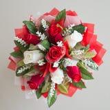 Rosas rojas, ramo de rosas Imagenes de archivo