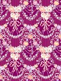 Rosas románticas Garland Multicolor Vector Seamless Pattern libre illustration