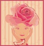 Rosas rosadas stock de ilustración