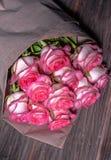 Rosas rosadas frescas hermosas Imagen de archivo libre de regalías