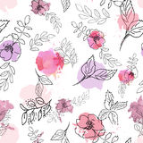 Rosas selvagens Foto de Stock