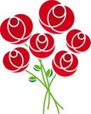 Rosas (vector) Foto de archivo