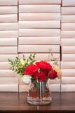 Rosas vermelhas bonitas Imagens de Stock Royalty Free