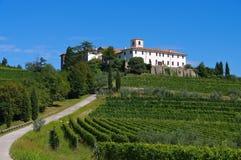 Rosazzo修道院 库存照片