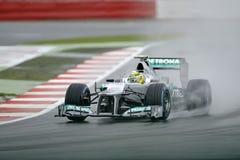 Rosberg di Nico, Mercedes F1 Fotografia Stock