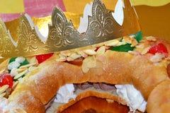 Roscón DE Reyes Royalty-vrije Stock Afbeelding