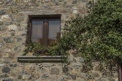 Roscigno viejo, Cilento (las TIC) Pueblo fantasma Imagen de archivo