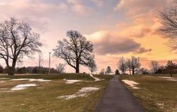 Roscoe Conkling Park imagem de stock