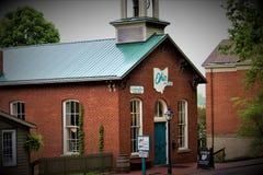 Roscoe Village Ohio royaltyfri foto