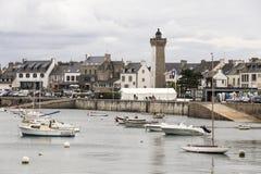 Roscoff, Bretagne, Frankrijk stock fotografie