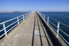 Roscoff bridge Stock Photo