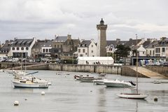 Roscoff, Brittany, França fotografia de stock