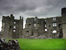 Roscommon castle. Ireland royalty free stock photos