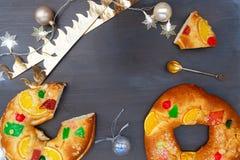 Roscon del Reyes royaltyfri fotografi