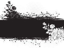 Rose конструирует иллюстрацию. Стоковое Изображение RF