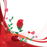 Rose. For your print  . valentines day Royalty Free Stock Image