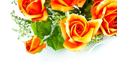 Rose. Art design Rose fabric in Thailand Royalty Free Stock Photo