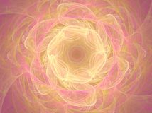 Rose. Abstract fractal background created with apophysis Royalty Free Stock Photo