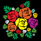 rose illustrazione di stock