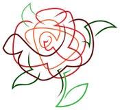 Rose Abstract stock de ilustración