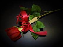 Rose als Geschenk Lizenzfreie Stockfotos