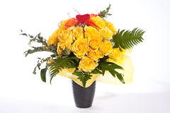 Rose amarilla Foto de archivo