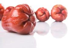 Rose Apple Fruit exotique X Photographie stock