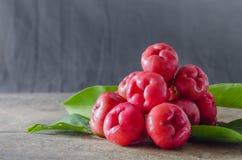 Rose apple fruit Royalty Free Stock Image