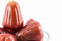 Rose apple isolated on the white Stock Photography