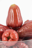 Rose apple isolated on the white Stock Image