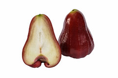 Rose apple isolated Stock Photos