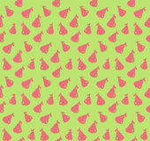 Rose apple pattern colorful seamless illustration Stock Photography