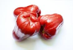 Rose apple. Thai fruit on white background Stock Photo